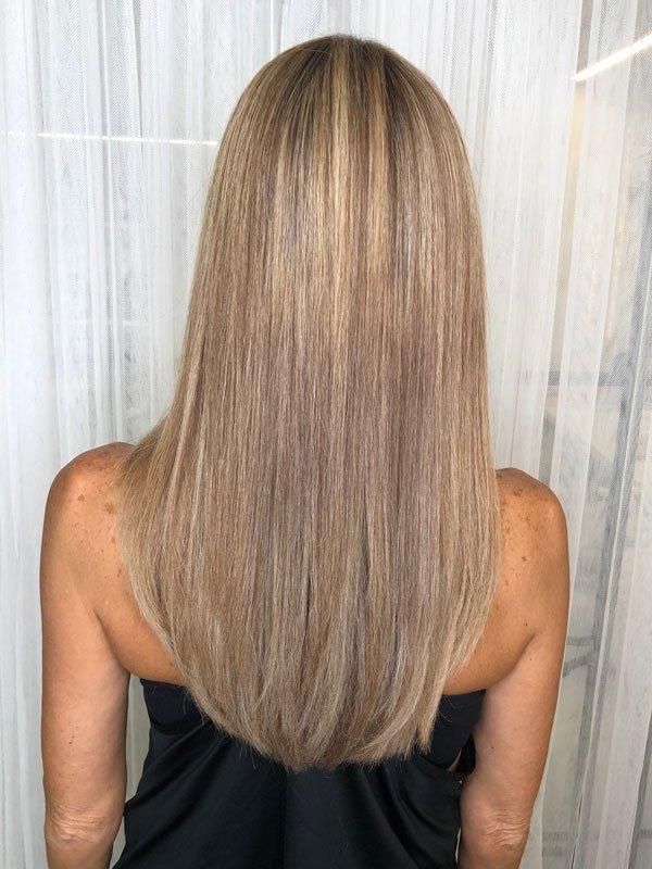 תמונות לפני ואחרי - המומחים להחלקות שיער, החלקת חימר, החלקה ברזילאית והחלקה אמריקאית